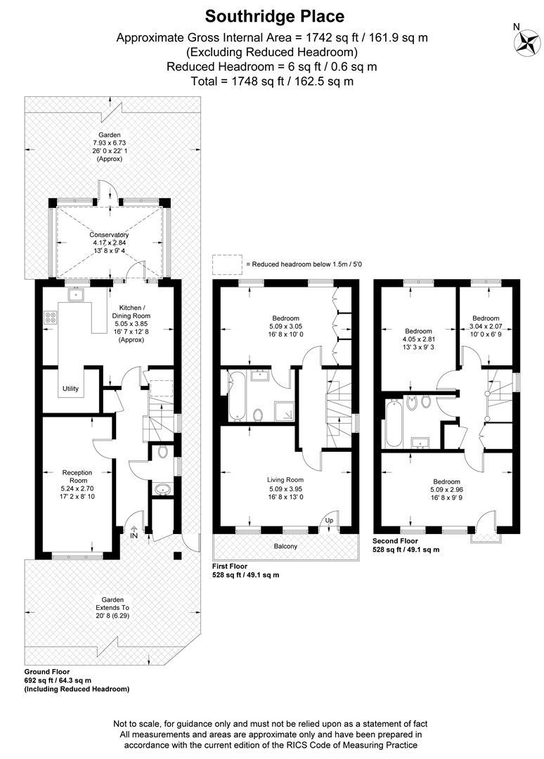 Floorplan for Southridge Place, Wimbledon